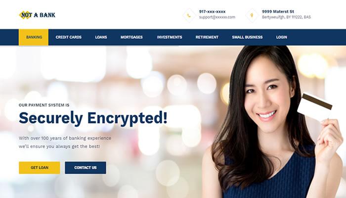 Online banking script