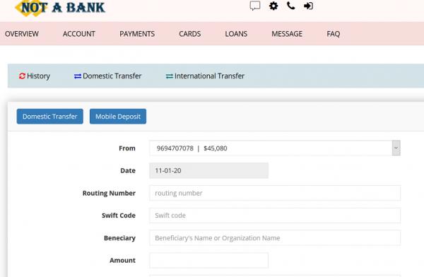not a bank 33